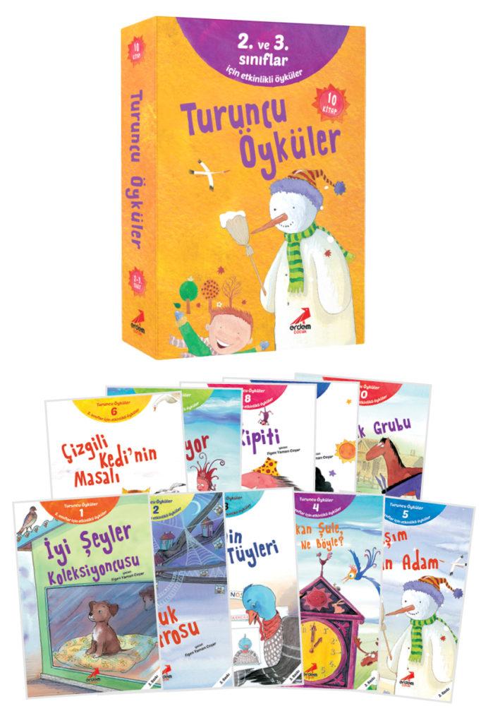Turuncu Öyküler (10 Kitap)
