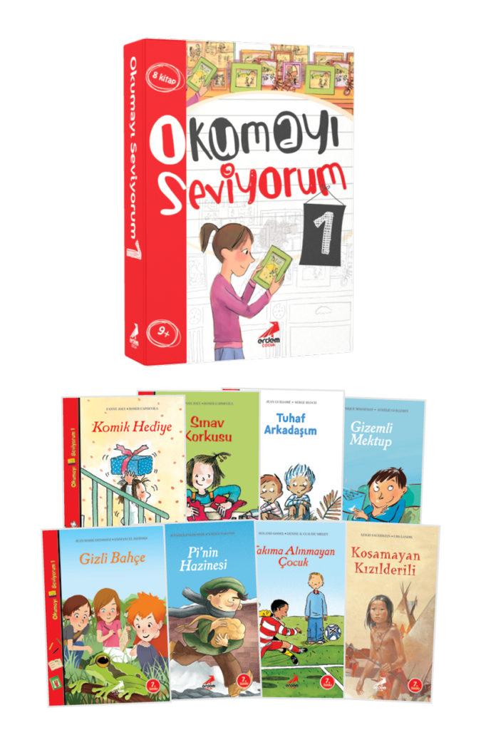Okumayı Seviyorum Seti 1 – 8 Kitap