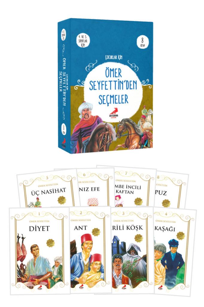 Ömer Seyfettin'den Seçmeler 8 Kitap