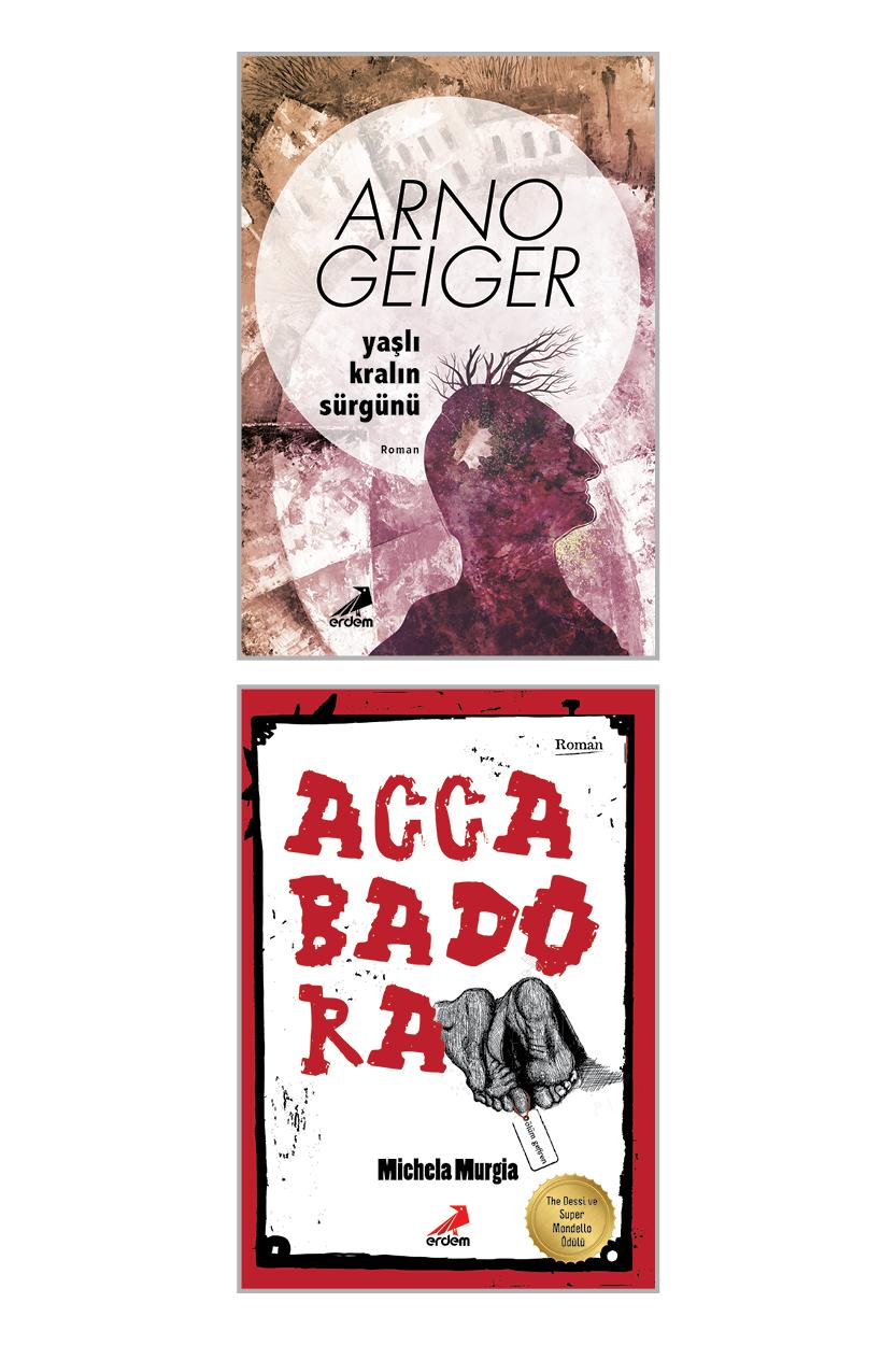 Accabadora – Yaşlı Kralın Sürgünü Roman Set