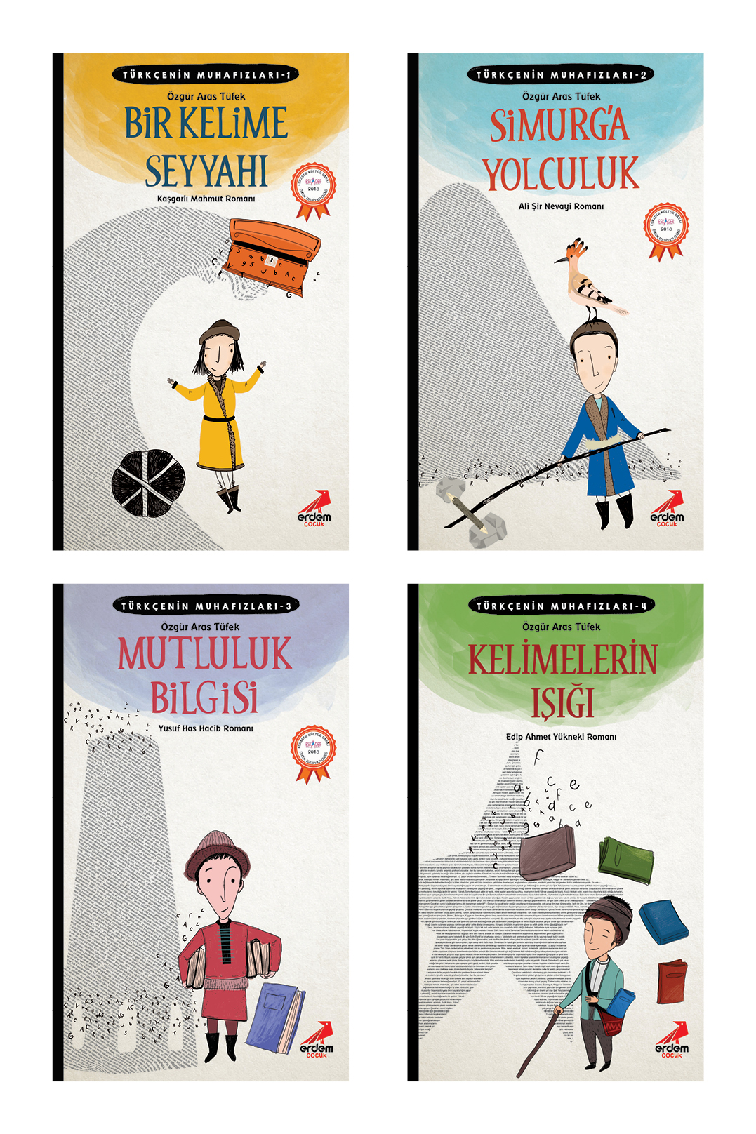 Türkçenin Muhafızları Seti 4 Kitap