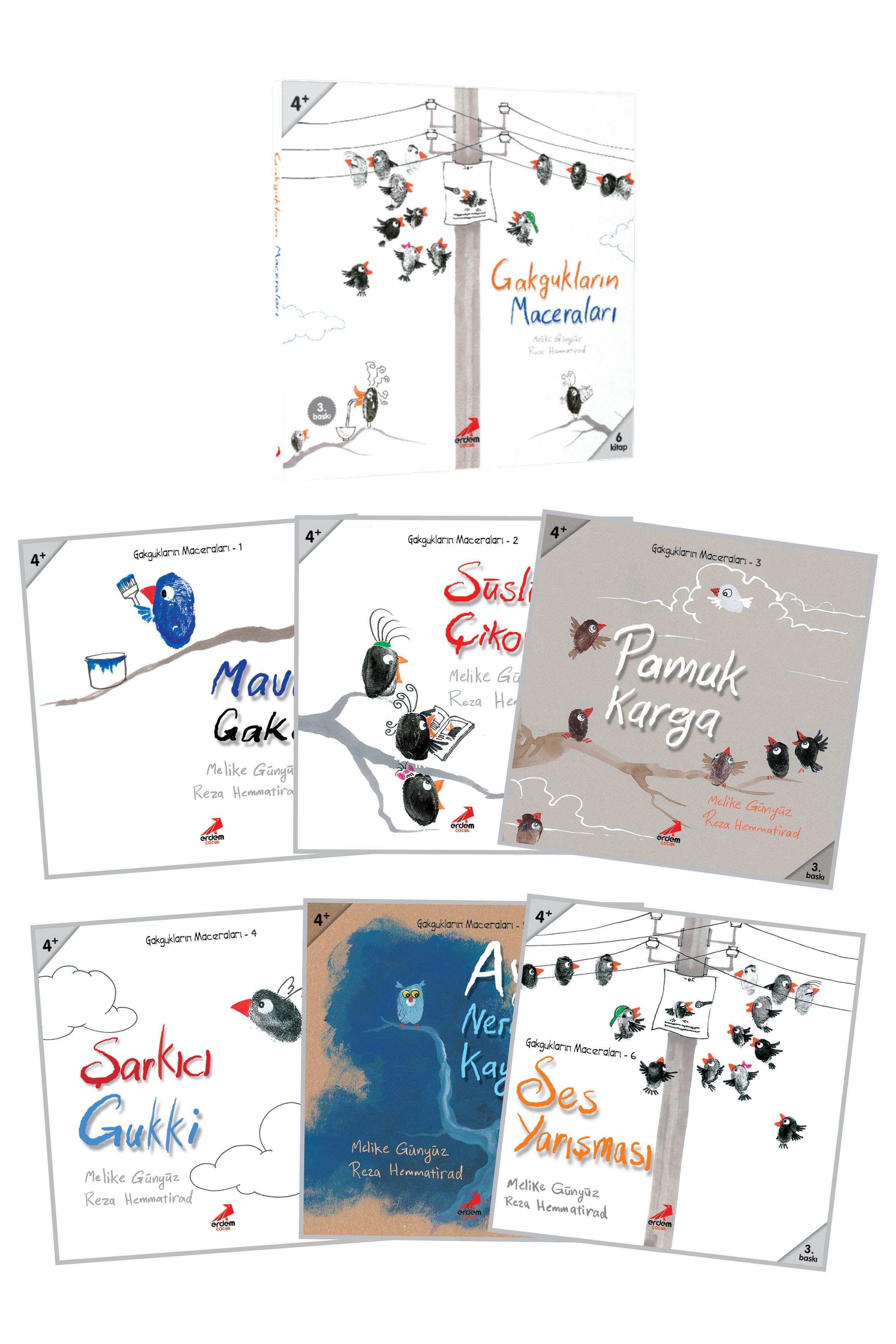 Gakgukların Maceraları (6 Kitap – Set)