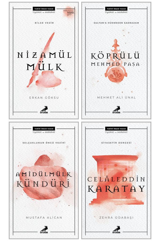 Özel: Tarihi İnsan Yazar Kırmızı Set