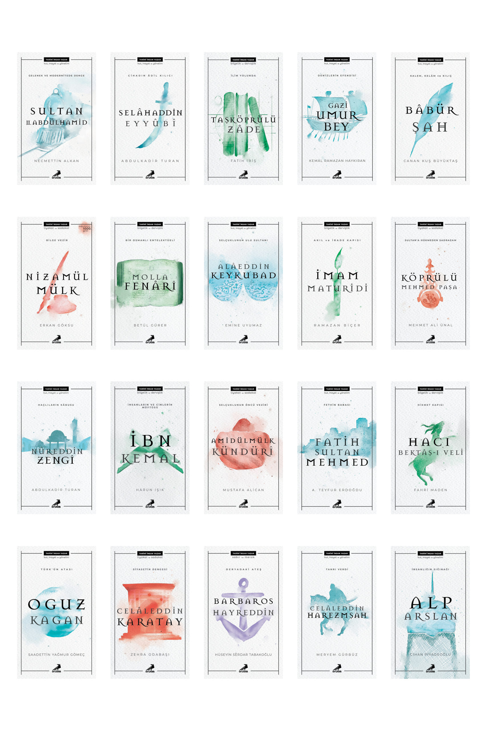 Tarihi İnsan Yazar Serisi ( 20 Kitap)