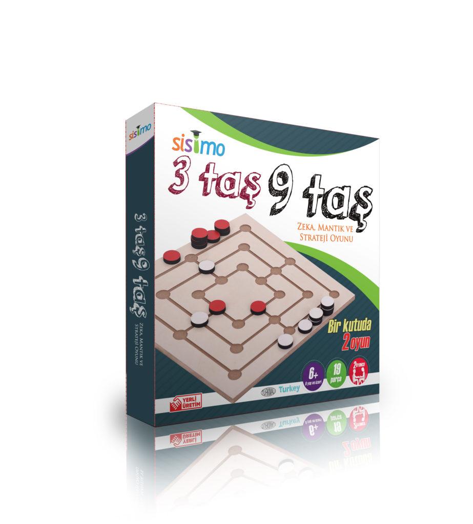 3 Taş – 9 Taş Oyunu