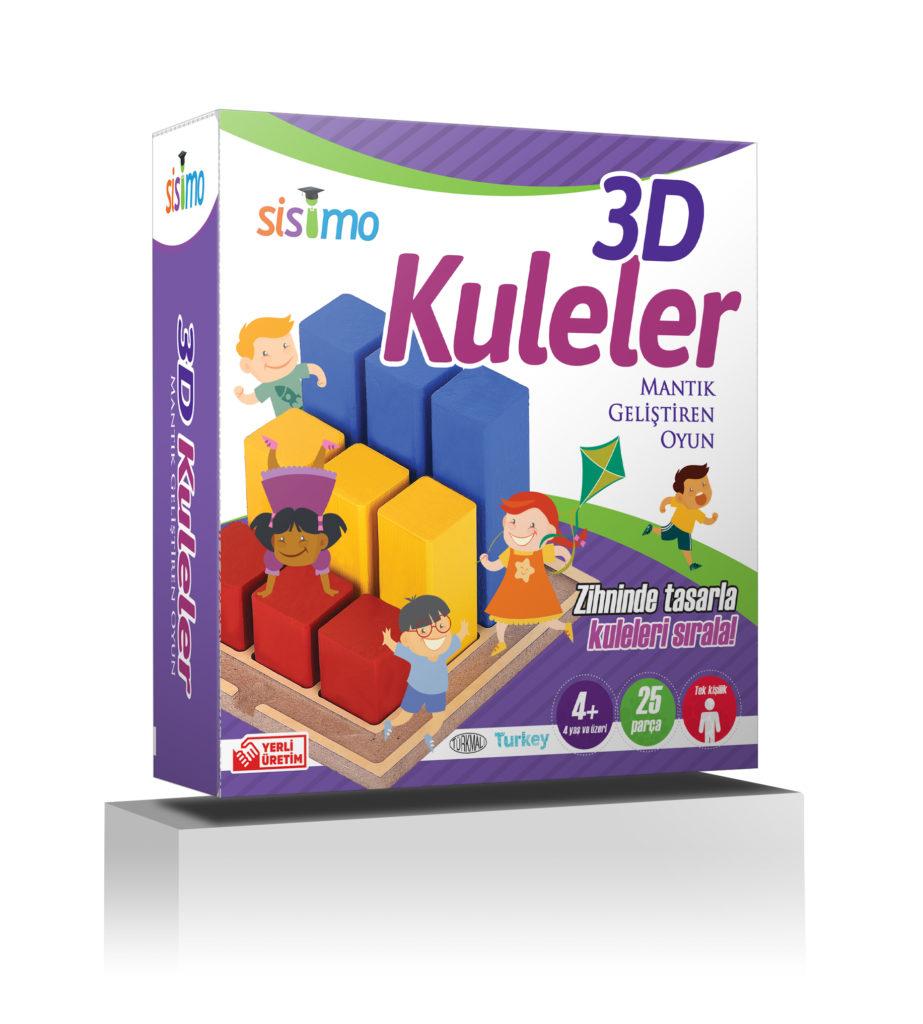 3D Kuleler