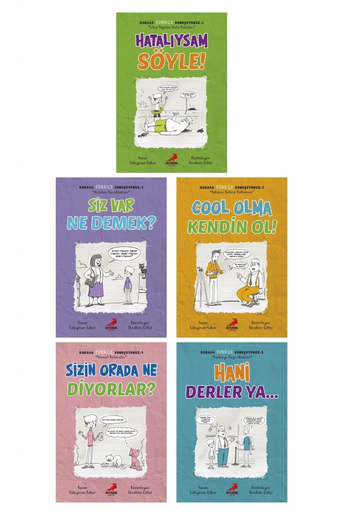 Burada Türkçe Konuşuyoruz – 5 kitap